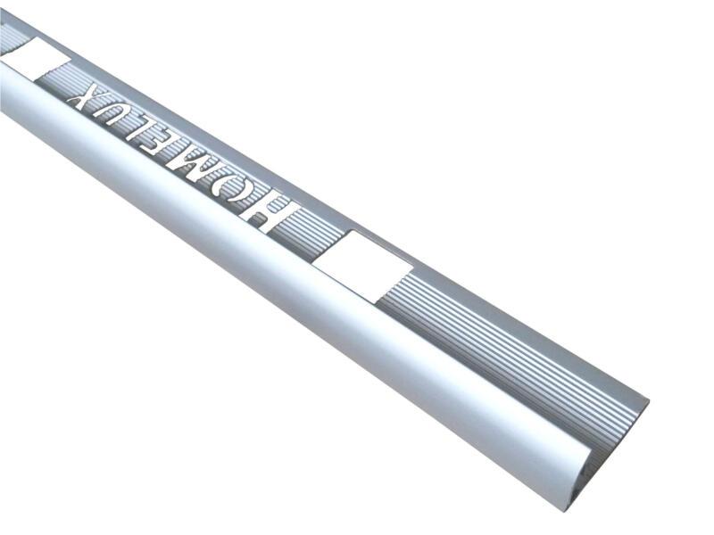 Homelux tegelprofiel rond 10mm 120cm aluminium zilver