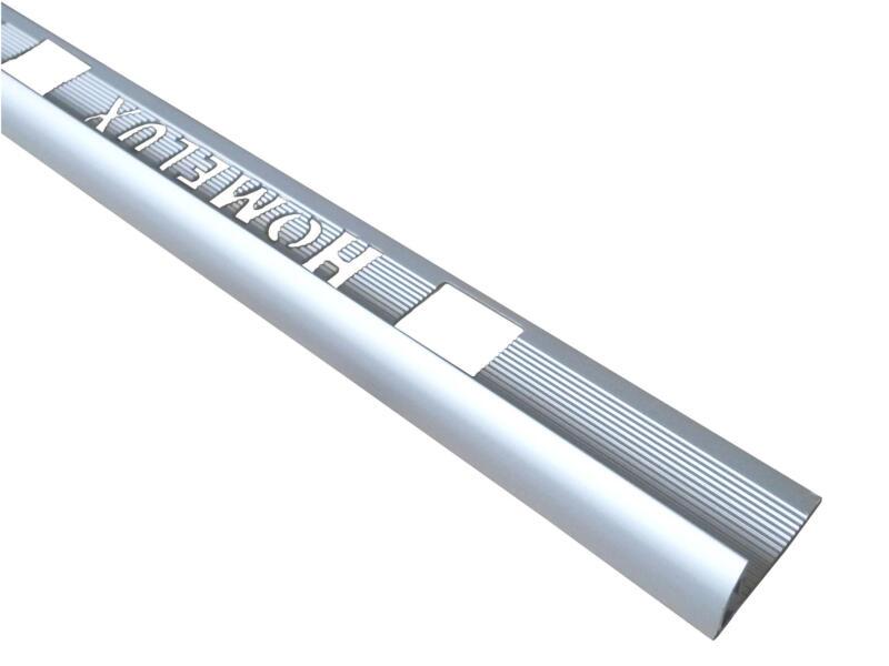 Homelux tegelprofiel rond 10mm 270cm aluminium mat