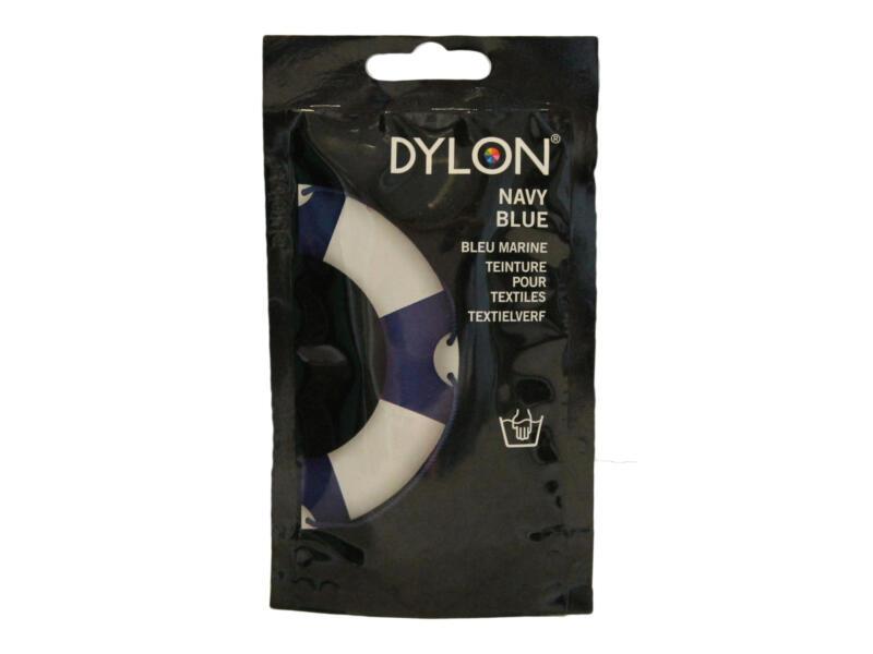 teinture textile 50g lavage à main navy blue
