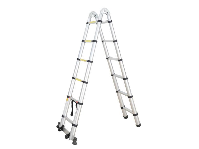 Diggers telescopische ladder 2x6 sporten