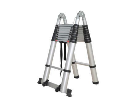 Diggers telescopische ladder 2x9 sporten