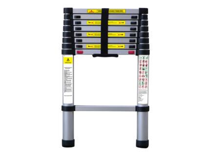 Diggers telescopische ladder 9 treden