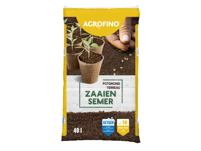 Agrofino terreau pour semis et bouturage 40l