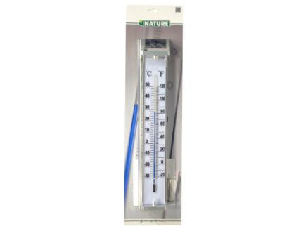 Ubbink thermometer 80cm aluminium
