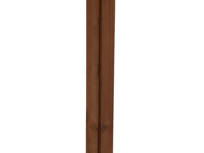 Burger thermowood wand- en gevelbekleding 160x6,5 cm 1m² den