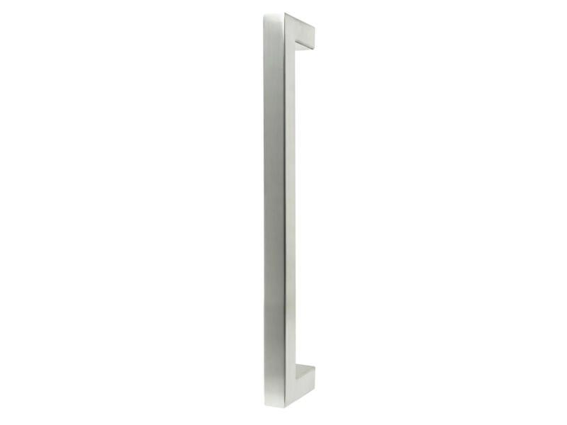 Solid tirant de porte carré 32cm inox