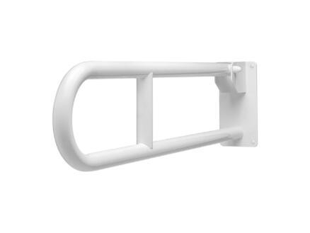 Secucare toiletbeugel 70cm opklapbaar wit