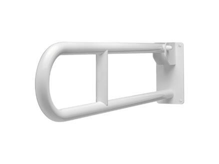 Secucare toiletbeugel 80cm opklapbaar wit