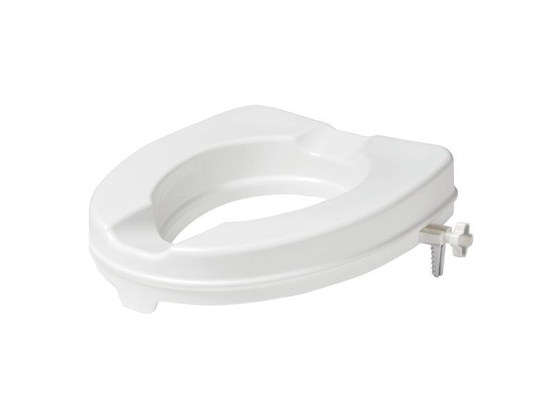 Secucare toiletverhoger zonder klep 600mm wit