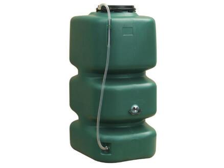 Garantia tonneau de pluie cubique 1000l vert 2 pièces