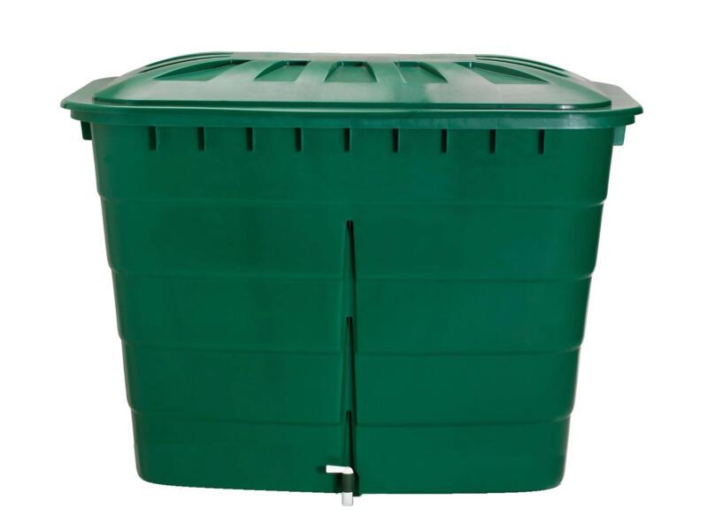 Garantia tonneau de pluie rectangulaire 520l vert