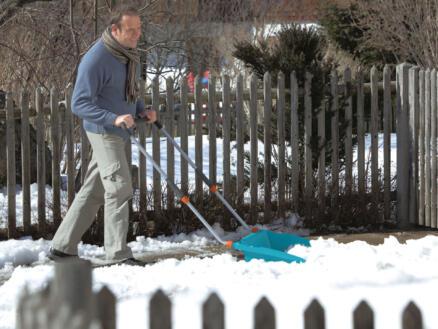 Gardena traineau à neige large 70cm