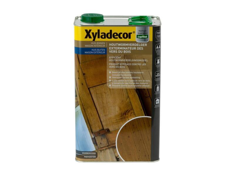 Xyladecor traitement du bois vers 5l incolore