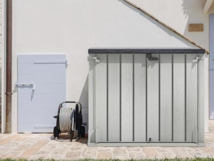 Practo tuinberging 145x85x124 cm grijs