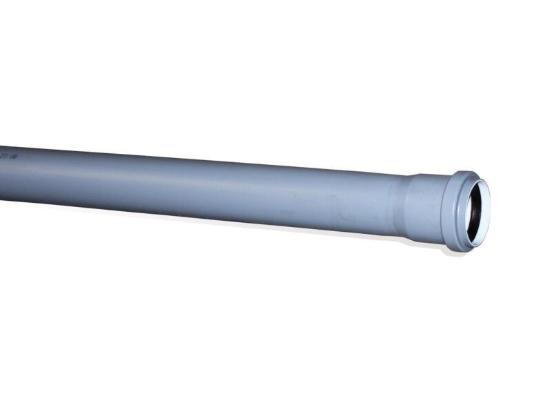 Scala tuyau sanitaire 50mm 1m polypropylène gris