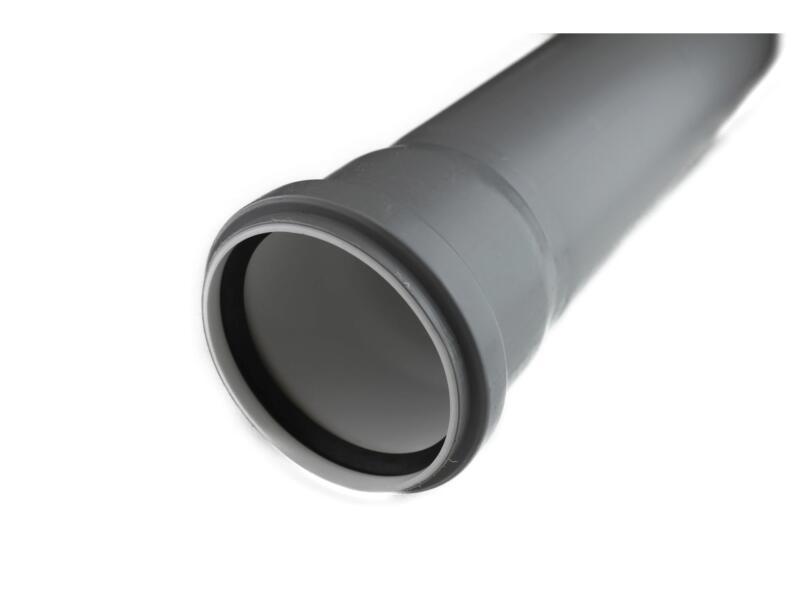 Scala tuyau sanitaire 90mm 1m polypropylène gris