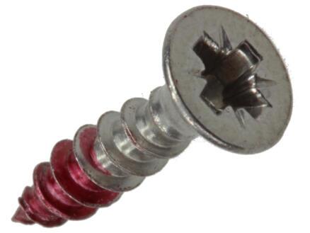 Rotadrill universele schroeven PZ2 3,5x16 mm inox 17 stuks