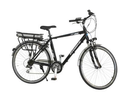 Evobike vélo électrique homme moteur central noir