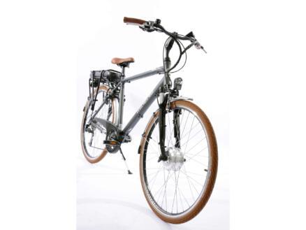 Minerva vélo électrique homme moteur roue avant gris foncé