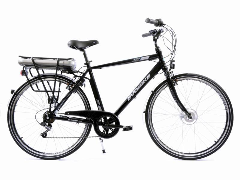 Evobike vélo électrique homme moteur roue avant noir