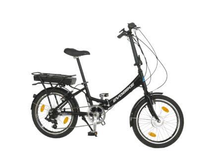 Evobike vélo pliable électrique moteur roue avant noir