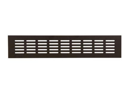 Renson ventilatiestrip 400x80 mm aluminium zwart