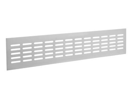 Renson ventilatiestrip 500x80 mm aluminium wit