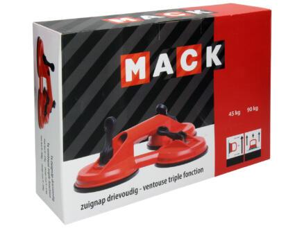Mack ventouse triple tête