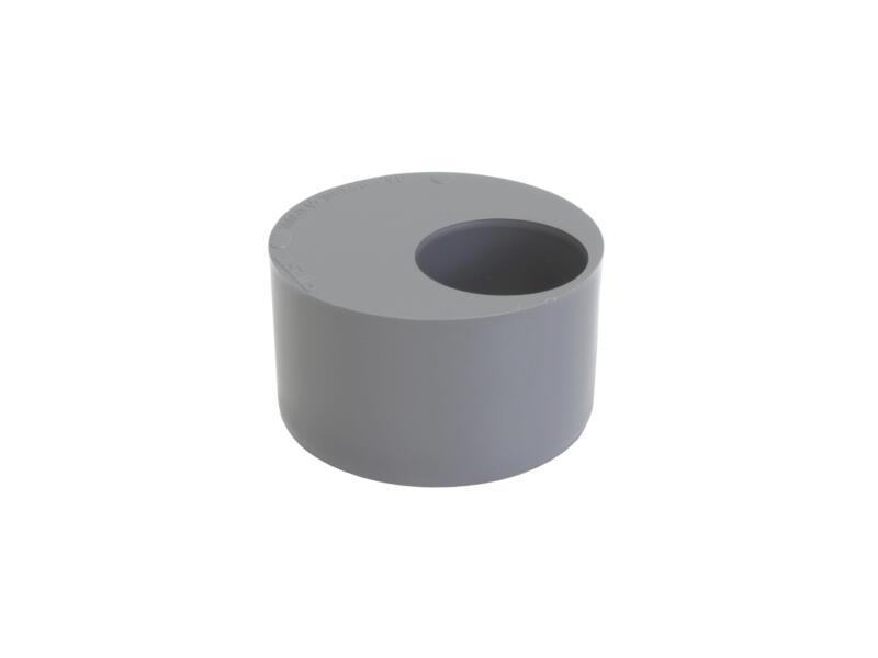 Scala verloopring 100mm/40mm PVC grijs