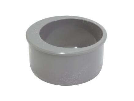 Scala verloopring 110mm/80mm PVC grijs