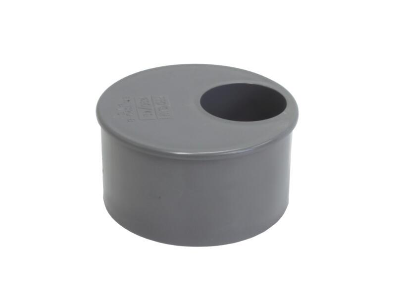 Scala verloopring 80mm/32mm PVC grijs