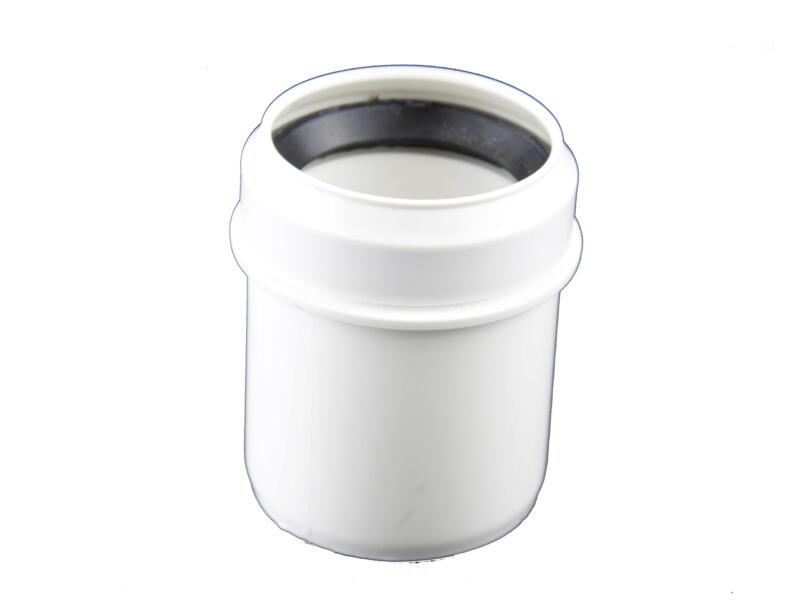 Scala verloopstuk MF 50mm/40mm polypropyleen wit