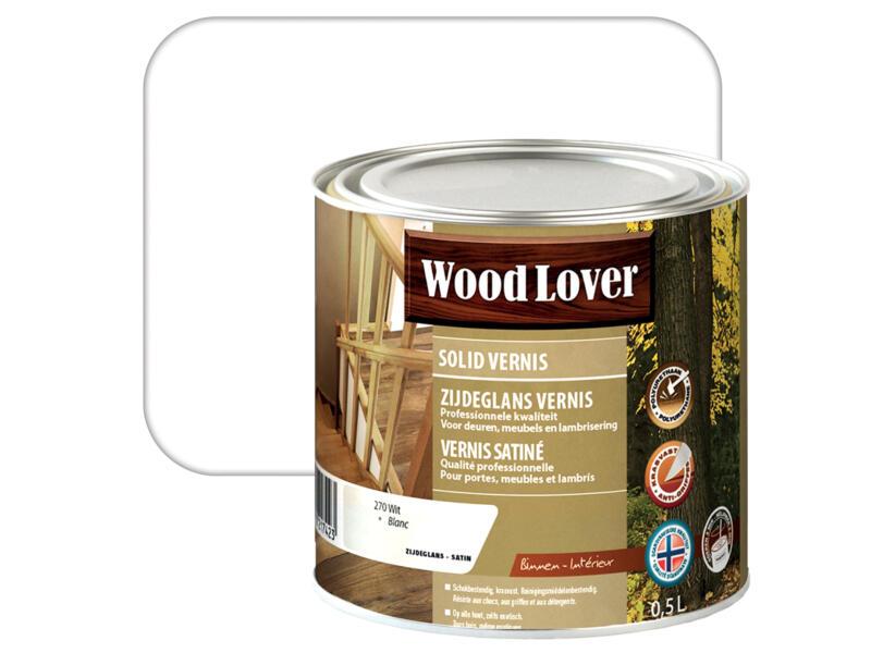 Wood Lover vernis 0,5l wit #270