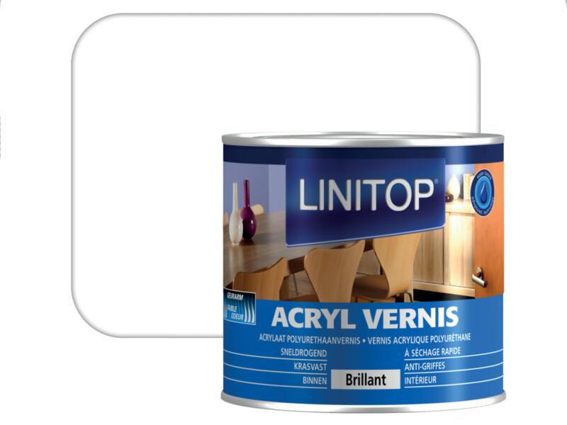Linitop vernis acryl brillant 0,25l incolore