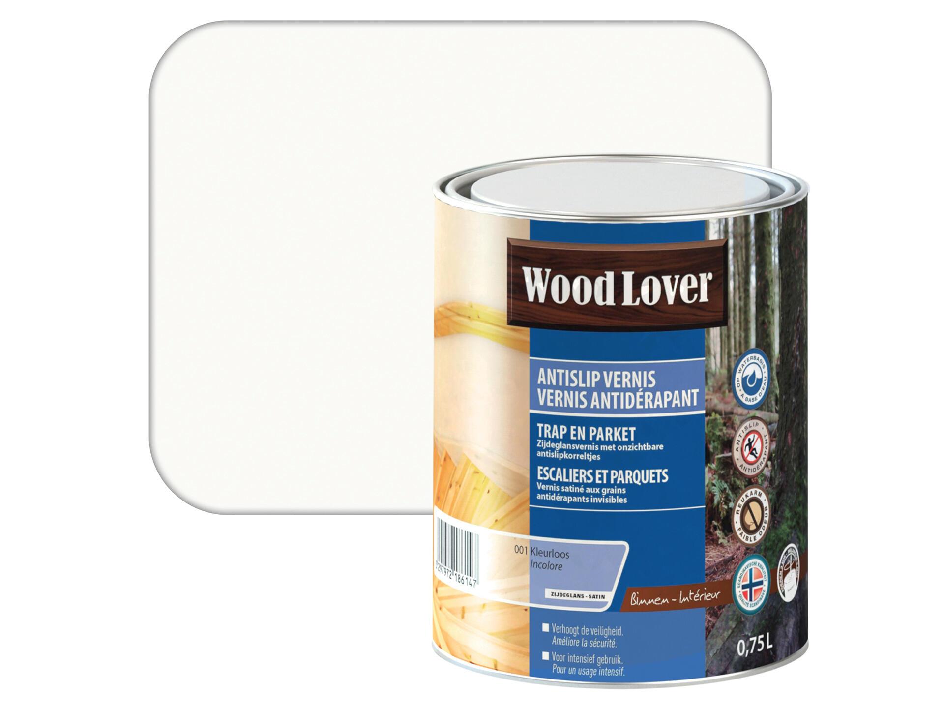 Antidérapant Pour Escalier En Bois wood lover vernis antidérapant 0,75l incolore