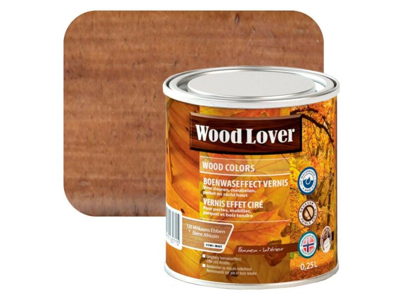 Wood Lover vernis boenwaseffect 0,25l Afrikaans ebben #120