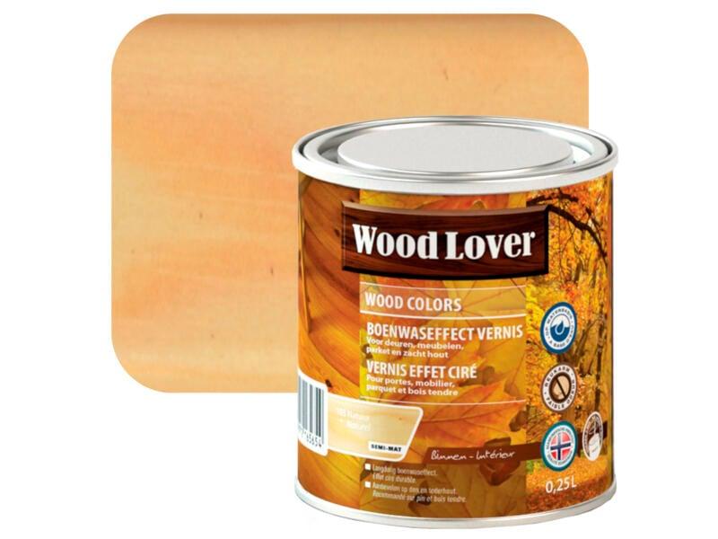 Wood Lover vernis boenwaseffect 0,25l natuur #103