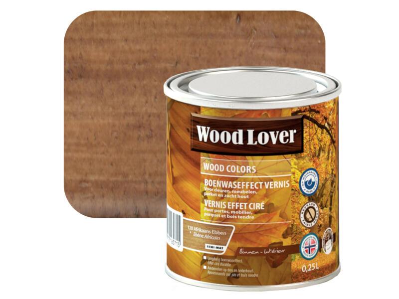 Wood Lover vernis effet ciré 0,25l ébène Africain #120