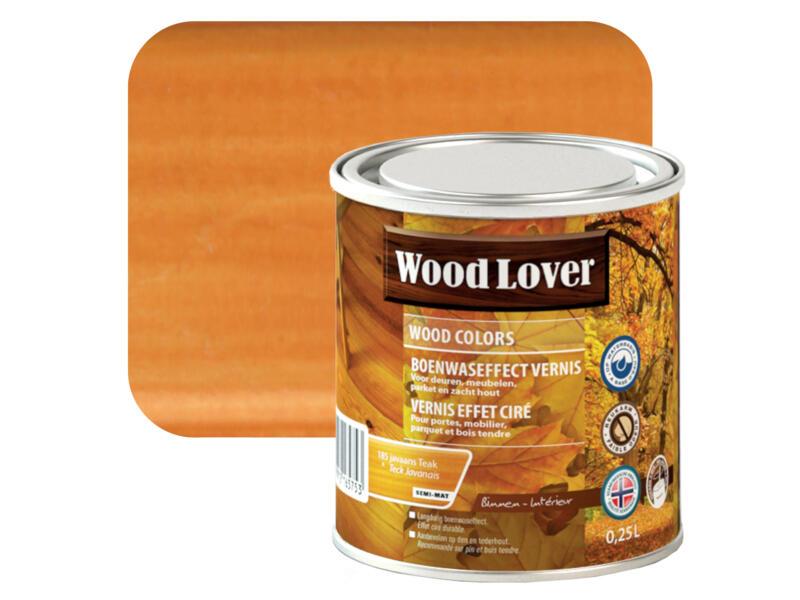 Wood Lover vernis effet ciré 0,25l teck Javanais #185