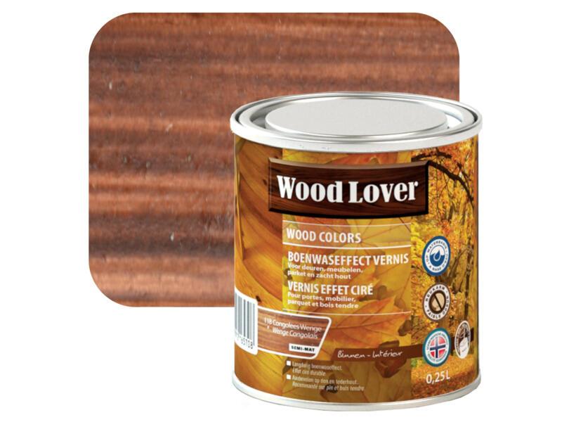 Wood Lover vernis effet ciré 0,25l wenge Congolais #118