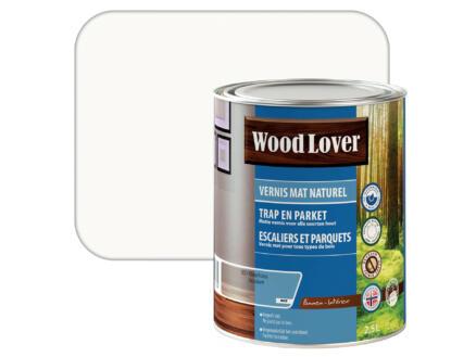 Wood Lover vernis mat 2,5l kleurloos