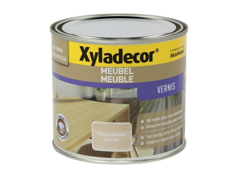 Xyladecor vernis meuble à séchage rapide mat 0,5l incolore