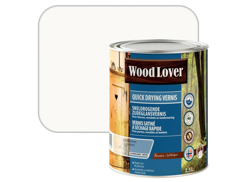 Wood Lover vernis parquet à séchage rapide 2,5l incolore