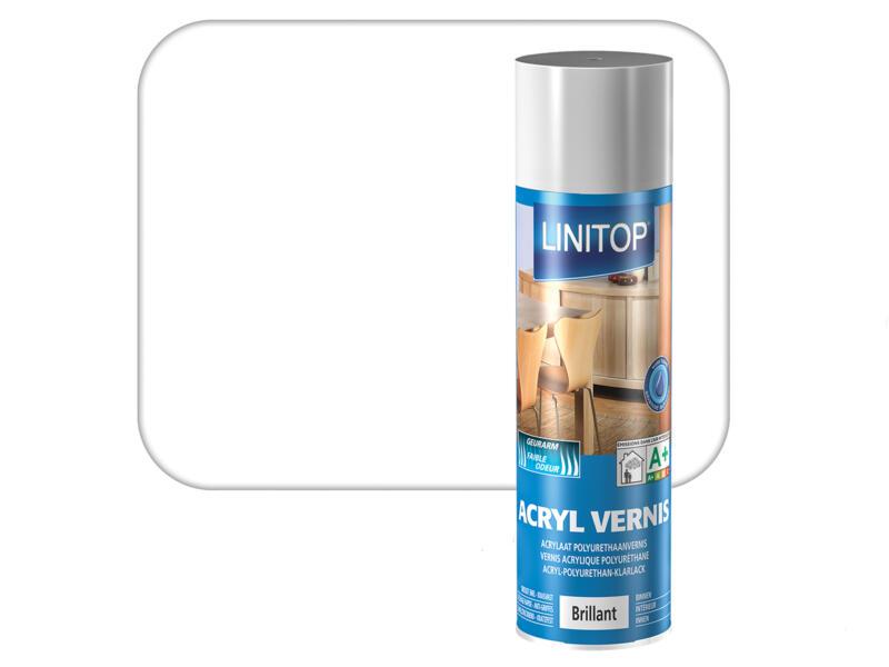 Linitop vernis spray hoogglans 0,4l kleurloos