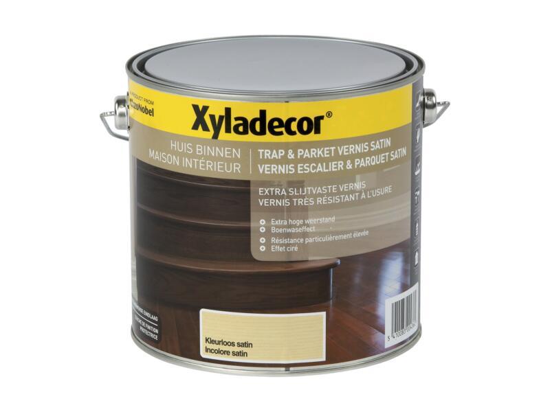 Xyladecor vernis trap & parket zijdeglans 2,5l