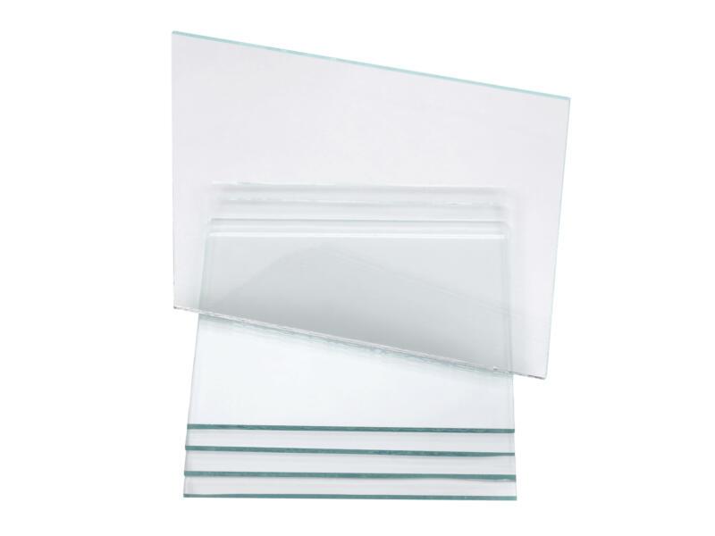 Rothenberger verre de rechange masque de protection 5 pièces