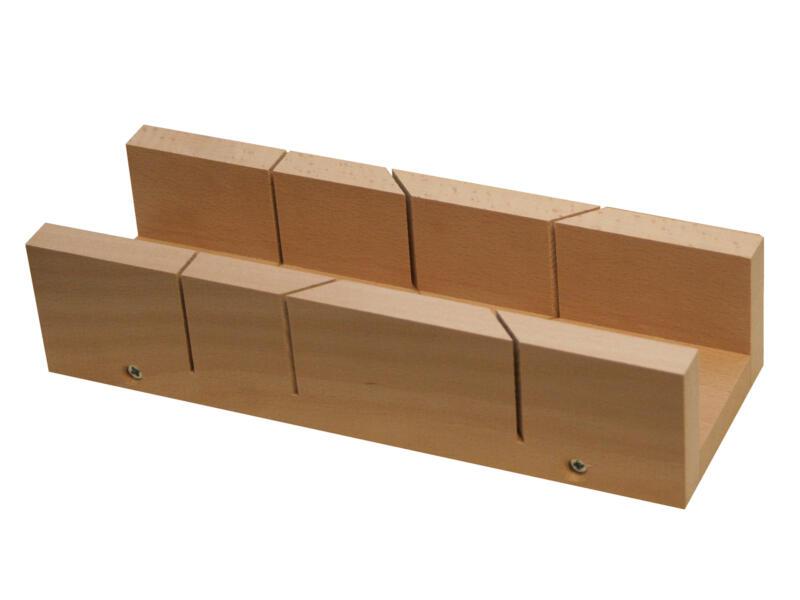 verstekbak 25x5,5x3,8 cm hout