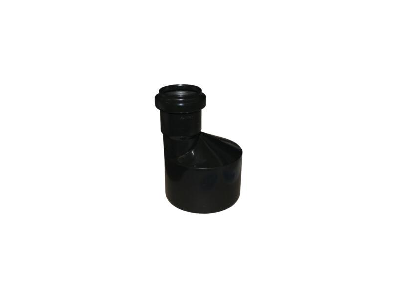 Scala verwijdingsstuk 40mm/110mm polypropyleen zwart