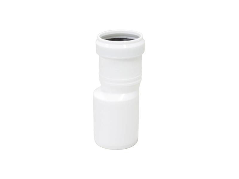 Scala verwijdingsstuk 75mm/90mm polypropyleen wit