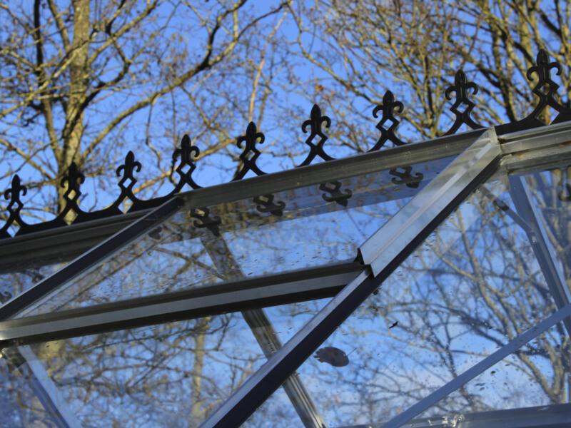 Eden victoriaanse nok serre Bourton 2010 zwart